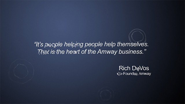 Amway Ripplewall screen shot 2