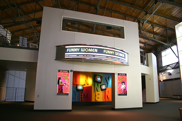 FUNNY WOMEN MARQUEE